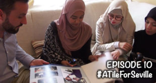 #ATileForSeville – EPISOD 10 of 24 – Meeting with the vice-president of the Seville Mosque Foundation.