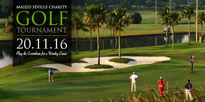 Masjid Seville Charity Golf Tournament.